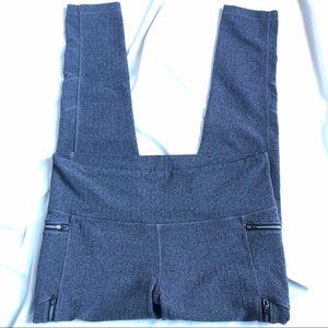 Athleta Sz XL gray zippered pants
